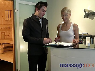 Angel Dark Shows Us How She Got A Squirting Massage