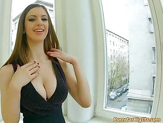 Black actress with massive boobs fuck