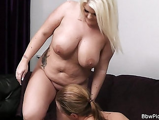 Chubby blonde Crack Whore In On Her Neighbor Video Friend