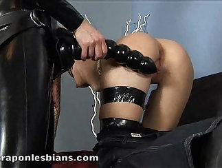 Complete Lesbians With Strap-on Toy And Essentials