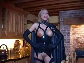 Crazy fetish, xxx scene with exotic pornstars Zesty Gold and Barbaro Capone from Dungeonsex