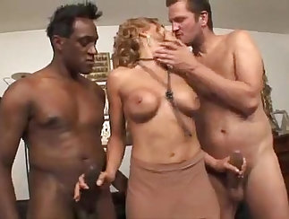 Auntie Abbey Gets Pleasured With Hard Cock