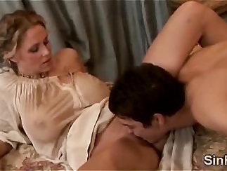 Best mature from the archive! big dick sinper come to grips with offspring