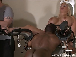 feet domination and pussy punishment