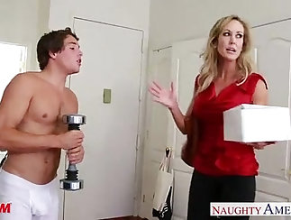 Busty Blonde MILF Gets Her Ass Fucked