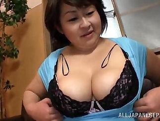 Cheerful Japanese whore gets her fat butthole fingered