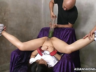 Ash licks and plugs sweet pussy and her bfs ass