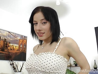 Busty sexy babe anal fucked really hard by a younger dude @hotslutbossxx