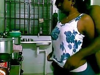 Beautiful Indian Fucked In The Kitchen